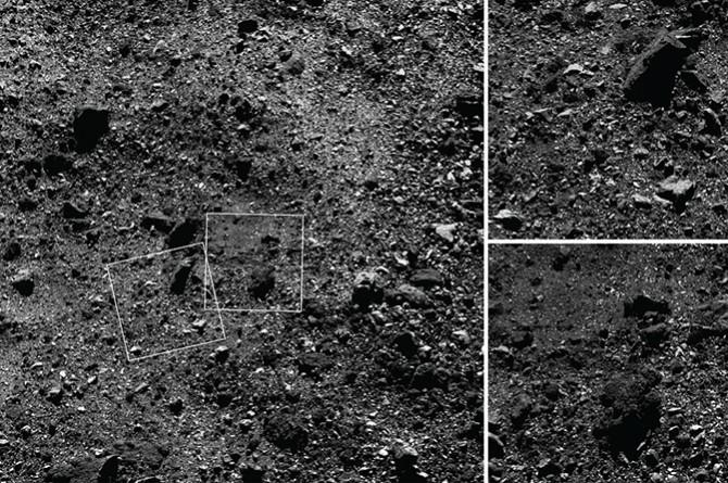 Primeras observaciones del primitivo y cercano asteroide Bennu