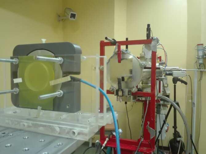 Aceleradores de partículas para irradiar cultivos celulares