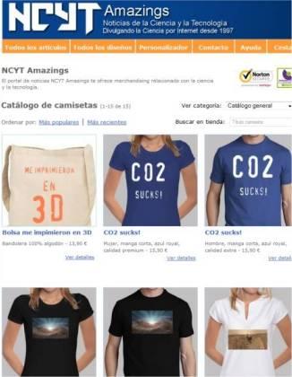 NCYT Amazings os invita a su nueva tienda de camisetas y merchandising
