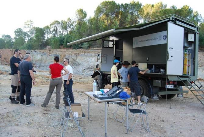 Sondas de última tecnología en el subsuelo de Río Tinto