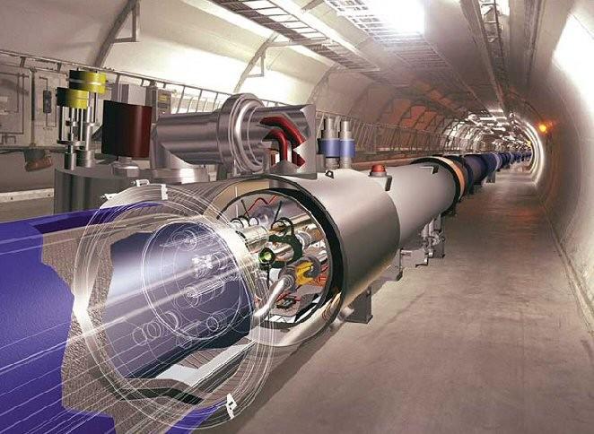 Resultado de imagen de Acelerador de partículas LHC