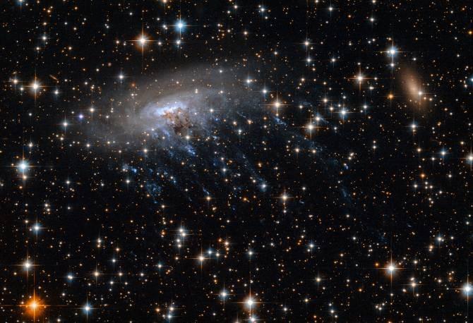 Cerca del centro del Gran Atractor una galaxia está siendo despedazada |  Noticias de la Ciencia y la Tecnología (Amazings® / NCYT®)