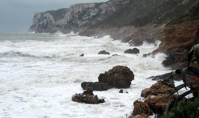 La marea meteorológica del mar Mediterráneo aumenta