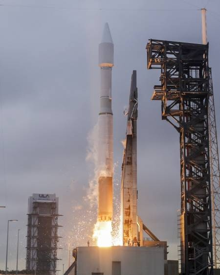 Lanzada la nave Cygnus CRS-4