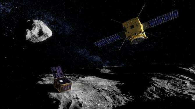 AIM (Asteroid Impact Mission). (Foto: ESA - The ScienceOffice.org)