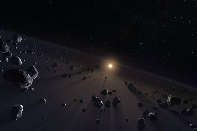 Cinturón de Kuiper. (Crédito: ESO)
