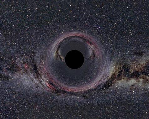 Los físicos españoles proponen estudiar la singularidad de los agujeros negros como si se tratase de una imperfección en la estructura geométrica del espacio-tiempo. (Foto: CSIC)