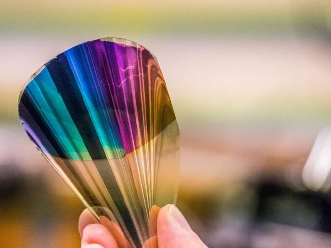 Resultado de imagen para Papel electrónico flexible y a todo color