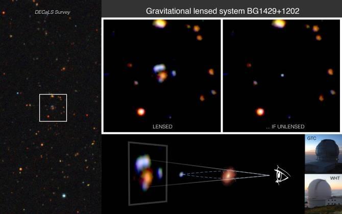 Se descubre una de las galaxias distantes no activas más brillantes Img_41222