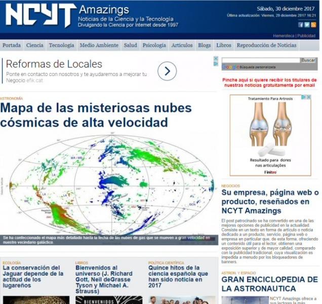 Amazings, 20 años divulgando ciencia por internet — Noticias de la ...