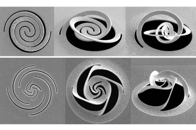 Resultado de imagen de Manipular luz a escala nanométrica con una técnica basada en el arte de recortar papel