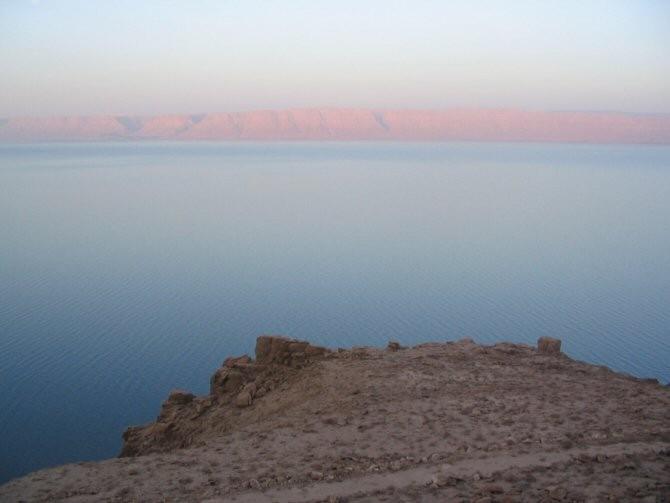 El Mar Muerto se desecó hace 125.000 años y eso podría volver a ocurrir por culpa del calentamiento global Img_6179