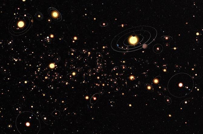 La existencia de planetas alrededor de estrellas es la norma  Img_6286