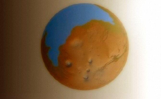 Océano en Marte